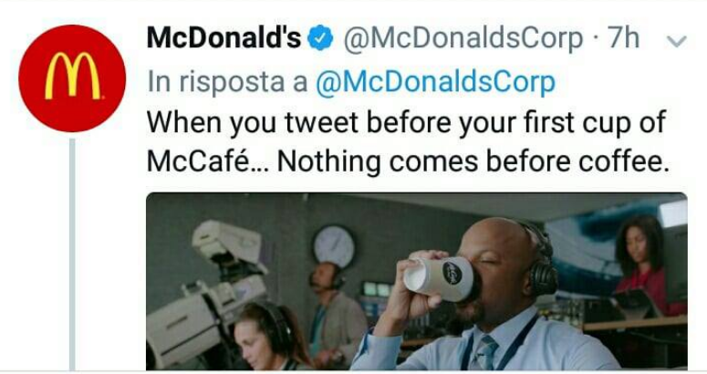McDonalds Epic Win su Twitter